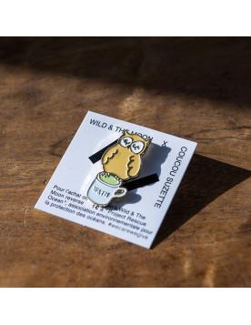 Pin's Hibou Matcha Latte
