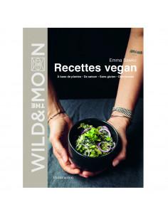 Livre de recettes vegan...